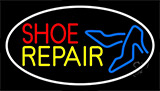 Red Shoe Yellow Repair With Sandals LED Neon Flex Sign