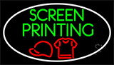 Screen Printing With LED Neon Flex Sign