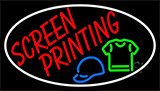 Screen Printing White LED Neon Flex Sign