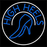 Blue High Heels With Sandal LED Neon Flex Sign