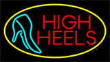 Red High Heels With Sandal LED Neon Flex Sign