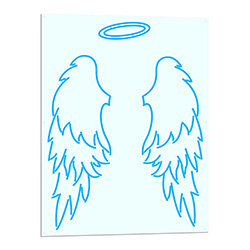Angel Wings Neon LED Sign