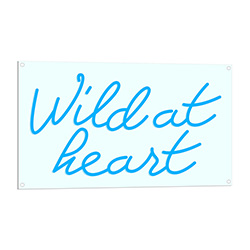 Wild At Heart Neon Sign