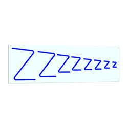 Zzz Neon LED Sign