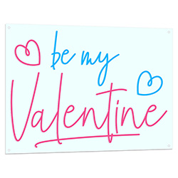 Be My Valentine Neon LED Sign