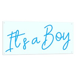 Its A Boy LED Sign