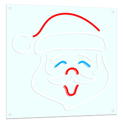Santa Claus LED Neon Sign