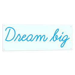Dream Big Neon LED Sign