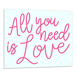 All You Need Is Love Neon Light