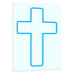 Cross Neon LED Light