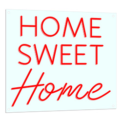 Home Sweet Home Neon Sign