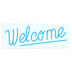 Welcome LED Light Sign