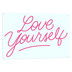 Love Yourself Neon LED Sign