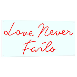 Love Never Fails LED Light