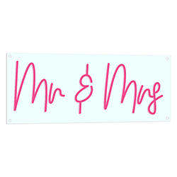 Mr And Mrs Neon Sign