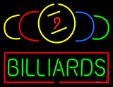 9 Ball Billiards LED Neon Flex Sign