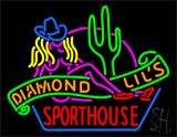 Sexy Diamond Lils Sporthouse Las Vegas LED Neon Flex Sign