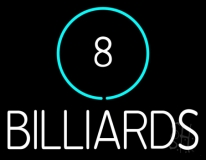 8 Billiards LED Neon Flex Sign