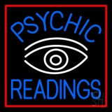 Blue Psychic Readings White Eye LED Neon Flex Sign