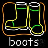 Boots With Logo LED Neon Flex Sign