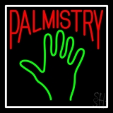 Red Palmistry LED Neon Flex Sign