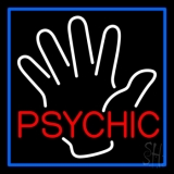 Red Psychic With Palm LED Neon Flex Sign