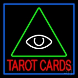 Red Tarot Cards Logo LED Neon Flex Sign