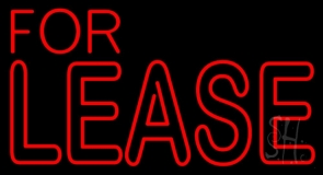 For Lease LED Neon Flex Sign