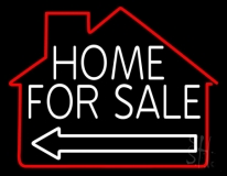 Home For Sale LED Neon Flex Sign