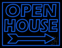 Open House Real Estate Decor LED Neon Flex Sign