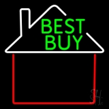 Real Estate Best Buy House Logo LED Neon Flex Sign