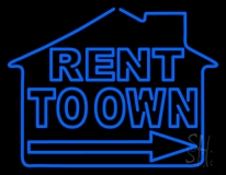 Rent To Own LED Neon Flex Sign