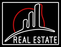 Real Estate With Logo LED Neon Flex Sign