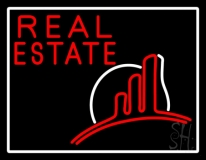 Real Estate With Logo 2 LED Neon Flex Sign