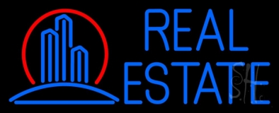 Real Estate Building Logo 1 LED Neon Flex Sign