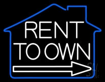 Rent To Own 1 LED Neon Flex Sign