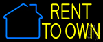 Rent To Own 2 LED Neon Flex Sign