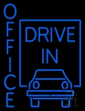 Office Drive In LED Neon Flex Sign
