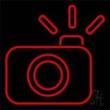 Compact Camera LED Neon Flex Sign