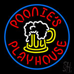 Poonies Playhouse LED Neon Flex Sign