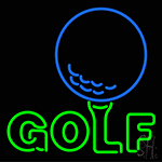 Golf LED Neon Flex Sign