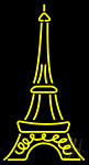 Eiffel LED Neon Flex Sign