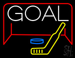 Hockey Goal LED Neon Flex Sign