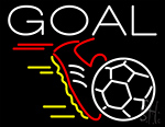 Soccer Goal LED Neon Flex Sign