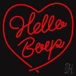 Hello LED Neon Flex Sign