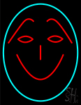 Funny Face Smile LED Neon Flex Sign