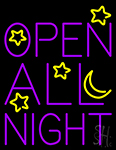 Open All Night LED Neon Flex Sign
