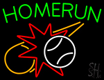 Home Run LED Neon Flex Sign