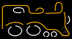 Toy Train LED Neon Flex Sign