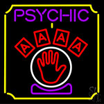 Psychic With Hand LED Neon Flex Sign